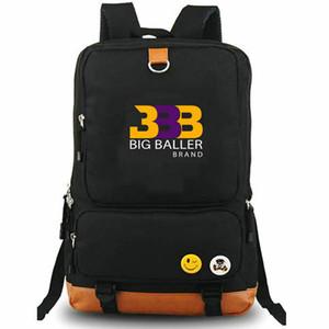 BBB Rucksack Lonzo Ball Star Daypack Basketball Design Schultasche Freizeitrucksack Schwarzer Rucksack Sport Schultasche Outdoor Daypack