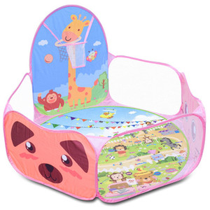 Baby Playpen Toy Tents Children Outdoor IndoorOcean Ball Pool Pit Boys Girls Play Tent Kids Foldable Playpens Game Pool For Kids Gifts
