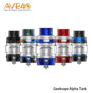 오리지널 Geekvape Alpha 서브 옴 탱크는 Nova Legend mod top에 2 개의 meshmellow mesh coil atomizer