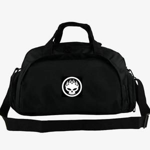 La bolsa de lona Offspring va a ir muy lejos de asas Dexter banda de rock hombro mochila de equipaje Música Deporte lona paquete de honda al aire libre