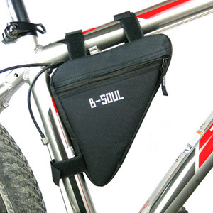 Triangle Bike Bag Marco del tubo delantero Ciclismo Bolsas de bicicleta Impermeable MTB Road Pouch Holder Saddle Bicicleta Bike Accesorios