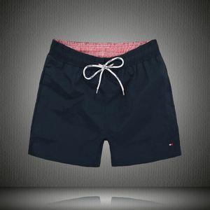 2018 Shorts da placa dos homens Calças de praia de verão Secagem rápida Swimwear masculino Shorts de natação com forro de sunga Plus Size