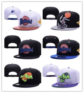Nuevo diseño de alta calidad 2018 Cheap Spacejam beisbol snapsback SHOHOKU cao snapback caps hombres mujeres sombreros de sol snap backs casual street sol