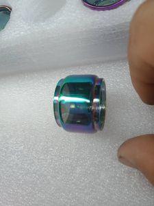 Arco-íris do bulbo estendido Fat Boy substituição bolha Expansão tubo de pirex de vidro para SMOK Brit Mini tanque sabor Sub Besta Espirais Além disso,