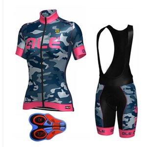 Весна лето велоспорт Джерси нагрудник короткие наборы женская велоспорт одежда с коротким рукавом mtb Джерси набор / комплекты велоспорт шорты 9d pad