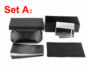 Sunglasses Retail Packages with box,case, cloth, Good quality Factory Price retail box packages for brand sunglasses