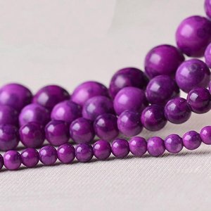 8mm High Quality Natural Stone purple Sugilite Beads Round Loose Beads 4mm 6mm 8mm 10mm 12mm DIY Necklace Bracelet Jewelry Making