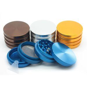 Smerigliatrici trapezoidali diametro 63mm Smerigliatrice in alluminio grinder a 4 strati 4 colori disponibili con smerigliatrice magnetica Herb DHL