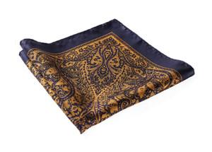 Hn29v Handkerchief 100 %Natural Silk Satin Mens Hanky Wedding Pocket Square