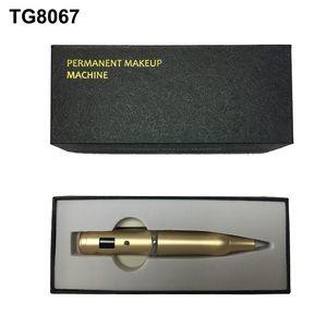 Цифровой Ротари Татуировки Пулемет Microbalding Machine Pen Перманентный Макияж Брови Губы Вышивка Microblading Инструменты Аксессуары Поставки