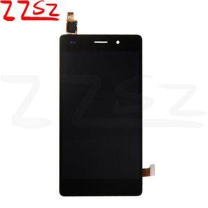 OEM TOP Kalite İçin Huawei Sayısallaştırıcı Meclisi beyaz ve siyah serbest DHL ile lite LCD Ekran Dokunmatik Ekran P8