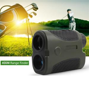 FIRECLUB 6X24mm Portable Laser Golf Rangefinder 400m Monocular Laser Distance Meter for Golf