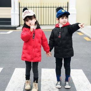 2018 new Light giacche invernali per bambini Kids Duck Down giacca di cotone per ragazze 1-5 anni parka Capispalla felpe con cappuccio Boy Coat enfant