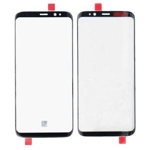 New Black Original S8 plus Lente di ricambio per schermo esterno frontale in vetro Per Samsung S8 Touch Screen Digitizer pannello