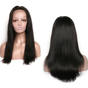 Brazilian Virgin Hair Lace Front Human Hair Wigs For Black Women Malaysian Indian Peruvian Straight Hair Lace Front Wigs 150 Density