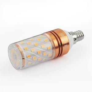 12W E14/E12 LED лампа канделябры (4 шт) - T10 LED кукуруза лампа, 100 Вт эквивалент лампочки, люстра лампа, AC85-265V 1200LM светодиодные фонари