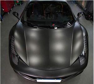 Matte Black Flat Vinyl Car Wrap Film Aufkleber Aufkleber Wrap Fahrzeug Aufkleber Air Free
