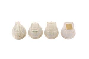 무선 주파수 시스템 미세 분별 10pin 25 핀 68 핀 나노 미세 피부 리프팅 RF 4 바늘 팁 헤드 카트리지 골드