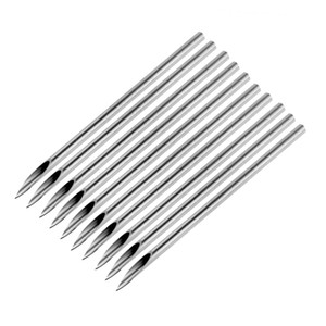 10pcs bag Surgical Steel Tattoo Piercing Needles Medical Tattoo Needle For Navel Nose Lip Ear Piercing 14g (1.6mm)