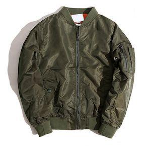 Новый бренд осень и зима MA 1 Pilot Jacket Мужские и женские дизайнерские куртки мужские куртки