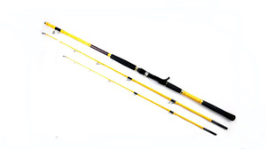 Tideliner BOAT caña de pescar 2.1m jigging trolling caña de hilado de carbono 50/80 # potencia 2 puntas caña de pescar Envío Gratis