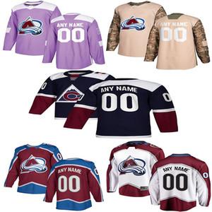 2019 News Colorado Avalanche Hockey Jerseys Mens Custom Любое имя Любое число Colorado Avalanche Hockey Jerseys