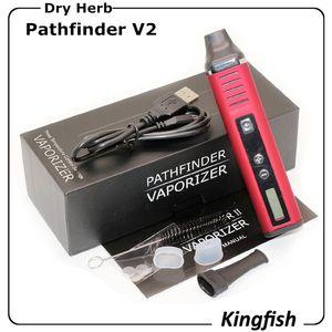 Pathfinder 2 seco Herb vaporizador cigarro eletrônico ervas Starter Kits Vape Pen 2200mAh Vapes E charuto e cigarro