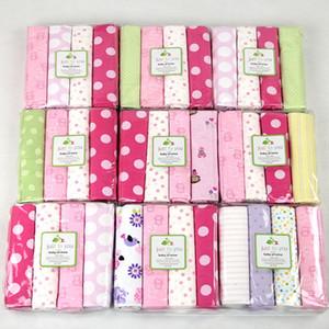 Feuilles Literie pour Enfants bande dessinée Dot Flower Imprimer Draps Couvertures Coton Drap emmailloter bébé Beding Couverture Linge de lit C5219