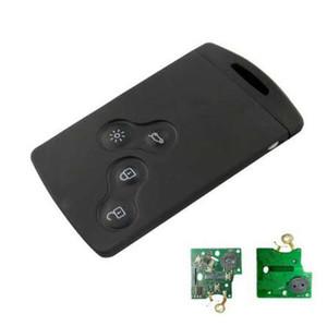 Vente chaude 433mHz PCF7952 PIECK 4 Bouton Key Key Key Key Card Smart Carte de voiture pour Renault Koleos Clio Megane Scenic Laguna
