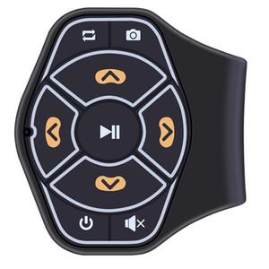 Handfree Bluetooth Car kit Volant De Voiture Télécommande Adaptateur Récepteur Audio Musique pour iPhone Accessoires De Voiture