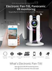 Nuovo 720P HD 180 angolo Panoramica VR Night Vision CCTV Telecamera di sorveglianza Mini WI-FI IP Sicurezza domestica Telecamera Audio Baby Monitor IP Cam