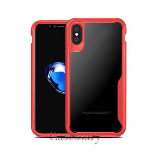 Coques de protection anti-rayures ultra claires pour iPhone XR XS MAX 8 7 6 Plus Samsung S8 S9 Plus Note 8 9