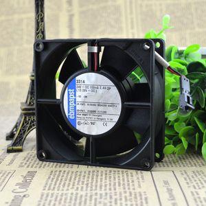 Para 3314 24VDC 100MA 2.4W original alemão ebmpapst 92 * 92 * 32 fã high-end equipamentos