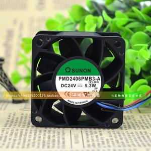 순정 SUNON PMD2406PMB3-A 24V 5.3W Siemens 인버터 전용 냉각 팬용