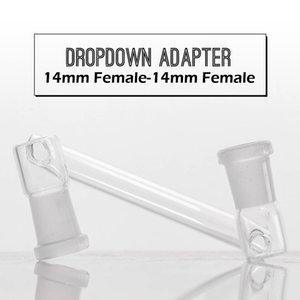 Glass Convert Drop-Down-Glas Adapter männlich Größe zu verschiedenen männlichen männlich zu weiblich zu weiblich für Wasserleitung