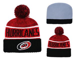 Vendita calda inverno Beanie maglia cappelli Carolina Hurricanes berretti cappelli basket baseball football inverno berretti cappelli 1000+