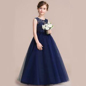 KEAIYOUHUO Las niñas de flores se visten para la boda y el vestido de fiesta Niños Niñas Princesa Vestido de Niñas Adolescentes 9 10 11 12 13 14 años