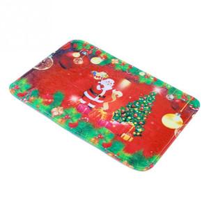 뜨거운 판매 산타 클로스 크리스마스 트리 매트 Doormat Floor Non Slip Rug Christmas Decoration
