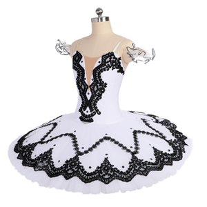Women White Ballet Tutu Swan Lake Stage Wear Adult Classical Ballet Dance Performance Competition Costumes Girls Ballet Skirt Apperal
