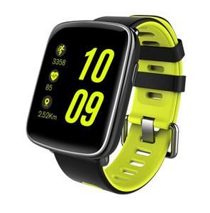 GV68 Montre Smart Watch étanche Moniteur de fréquence cardiaque Ip68 Bluetooth Smartwatch Natation avec des sangles remplaçables pour Android IOS
