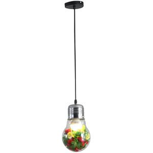 Green Plant Декоративные Подвесные Светильники Творческий Ресторан Music Bar Цветные Лампы Подвесные Светильники Кафе КТВ Клуб Промышленные Стеклянные Подвесные Светильники
