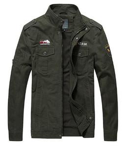 봄 가을 새로운 군사 유니폼 남자 유스 재킷 군사 휴 재킷 코트