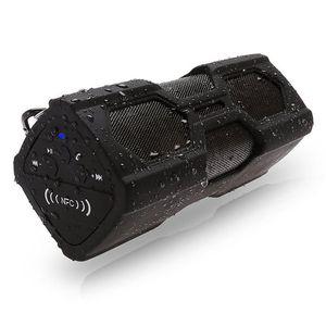 PT-390 новый открытый водонепроницаемый Беспроводной Bluetooth 4.0 NFC динамик стерео функция зарядного устройства Power Bank динамик сабвуфер