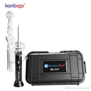 Kanboro новый стеклянный барботер для heanil 510nail и ecube восковая ручка vape pen dab rig tools с обслуживанием OEM E сигарета оптом