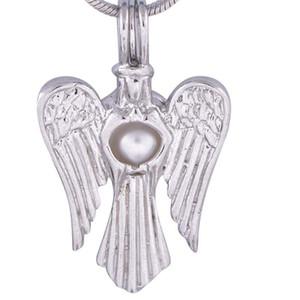 Encantos del ángel Metal Retro Animal Bird Charms Colgante hecho a mano para mujer Mens Eagle Shape Necklace P27