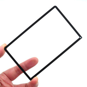Écran LCD supérieur de remplacement de surface en verre pour NOUVELLE 3DS LL XL NOUVELLE couverture de lentille 3dsxl 3DSLL 2015 DHL