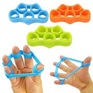 Portable Spring Resistance Hand Strengthener Grip Finger Stretcher Resistance Bands Exercisers Physical Rehabilitation Training for Fitness