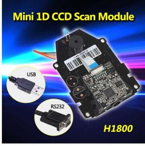 ¡Envío gratis! H1800 CCD Sensor 1D Barcode Scanner Scanner CCD Escáner de código de barras Escáner Módulo OEM DIY Scan Engine 1D CCD