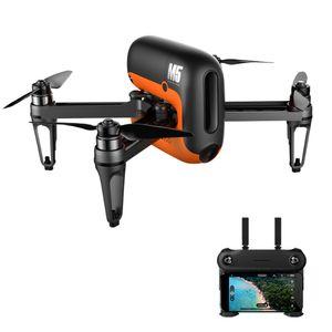 Großhandel M5 Brushless GPS WIFI FPV Mit 720 P Kamera RC Drone Quadcopter Spielzeug RTF VS Hubsan H109S Mi Drone DJI Funken Phantom 3 4