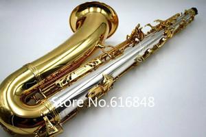 Marchio di qualità YANAGISAWA 9930 Tenor Saxophone Bb tubo d'ottone dell'oro della lacca di alta qualità strumento Sax con il caso, Bocchino